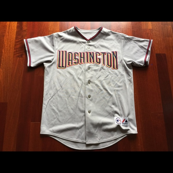 61a78083f Majestic Other - Washington Nationals Majestic Baseball Jersey